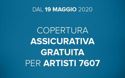 COPERTURA ASSICURATIVA PER ARTISTI 7607