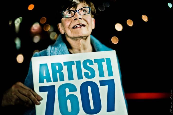 GRAZIE FRANCA. Artisti 7607 omaggia Franca Valeri